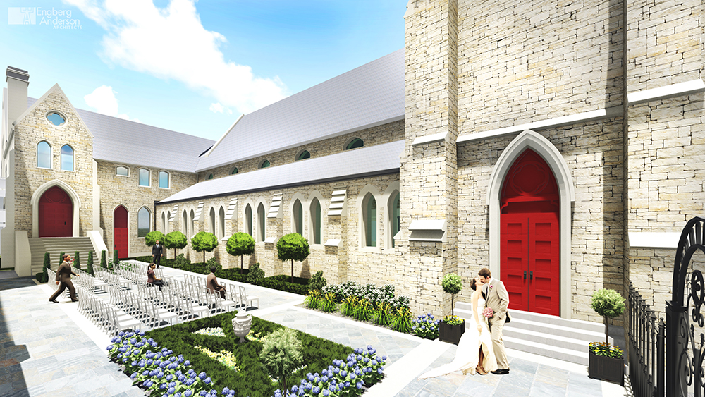 Crowle shepherds transformation of St. James into new events venue