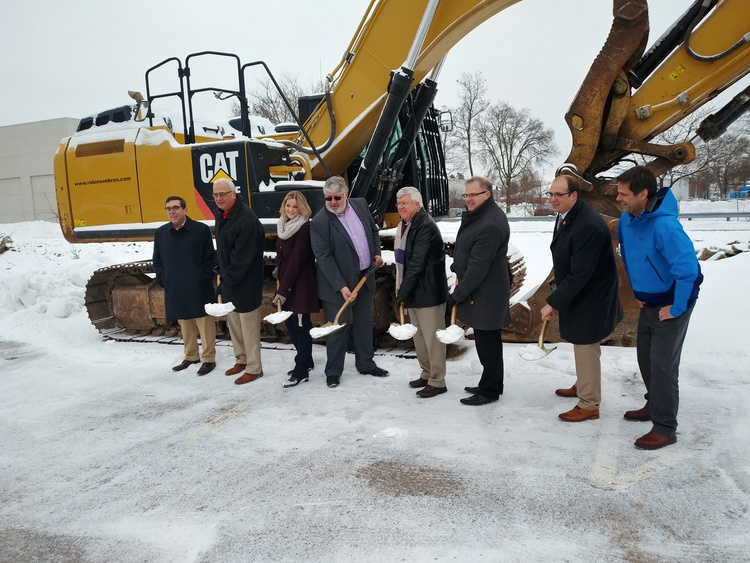 Groundbreaking held for new senior apartments in Stevens Point