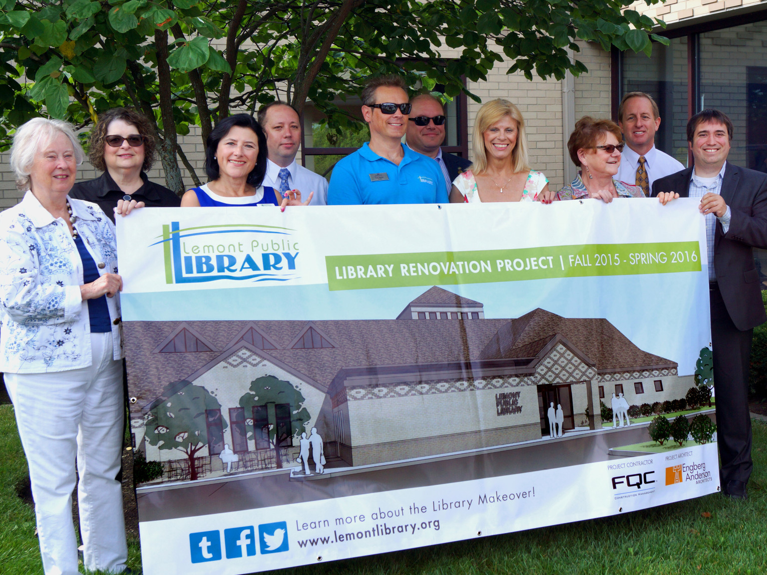 Groundbreaking: Lemont Public Library