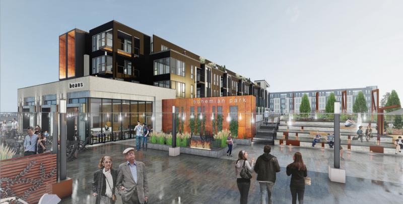 Plans for second Bohemian Park apartment building recommended