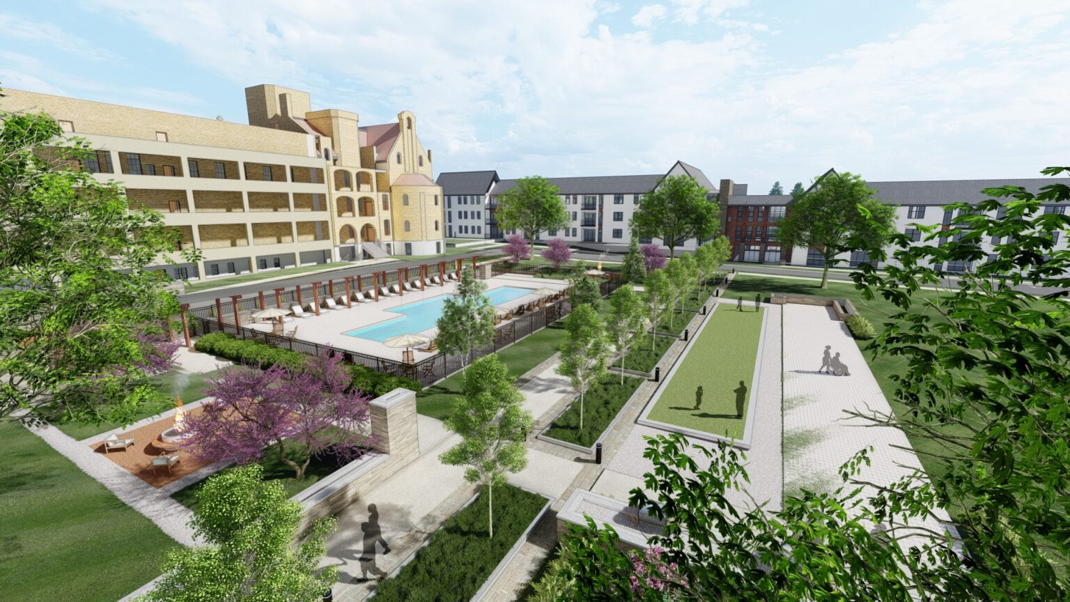Luxury apartments, houses, possible senior units floated for Elm Grove Sisters of Notre Dame campus