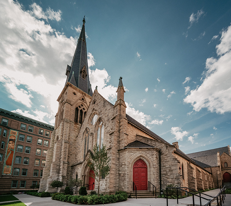 St. James 1868: Gothic revival turns place of worship into place of gathering