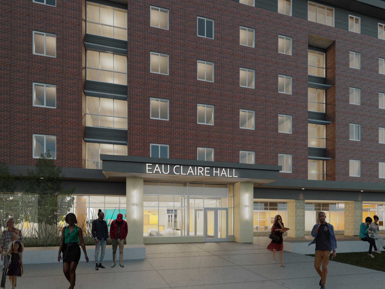 Groundbreaking: UW-Eau Claire Residence Hall
